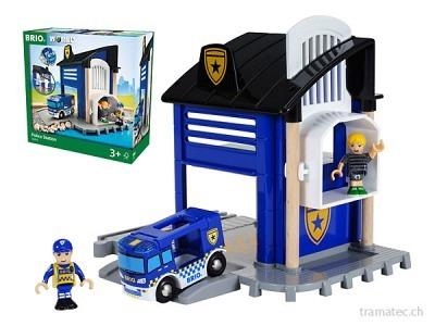 BRIO Polizeistation mit Einsatz-
